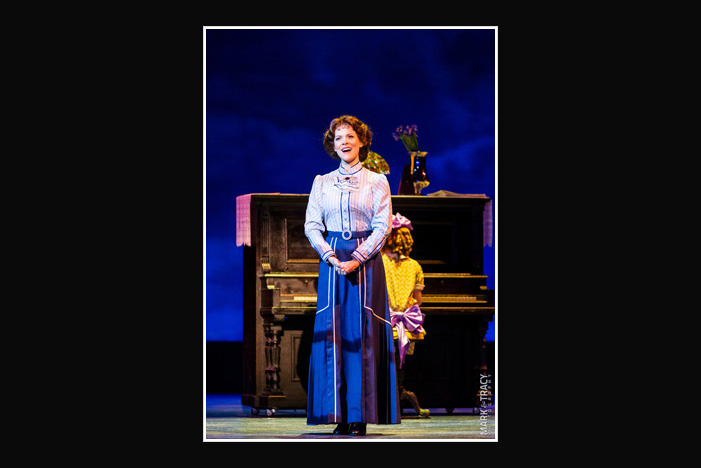 Laura Griffith in The Music Man